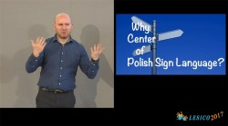How to create tools for learning Polish Sign Language?