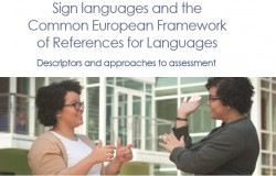 CEFR for Sign Languages