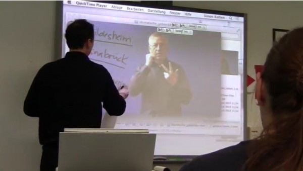 Blended Learning: Using a Smartboard (DGS)