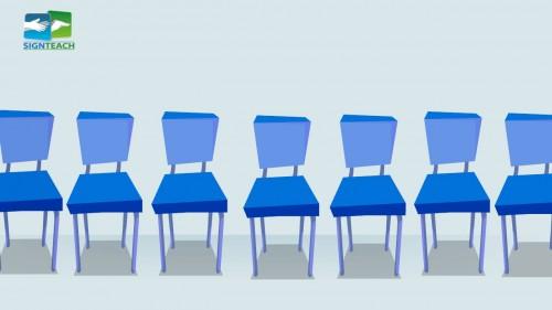 Chair - many - row