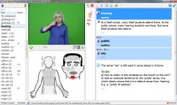 SOOSL: Sign Language Dictionary Software
