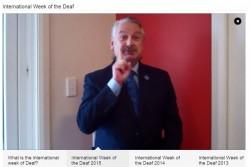 International Week of the Deaf